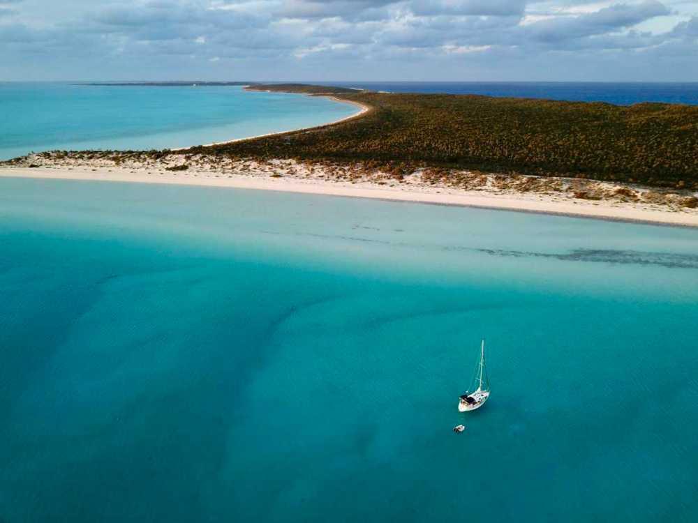 Andraloha voilier mer Caraïbes