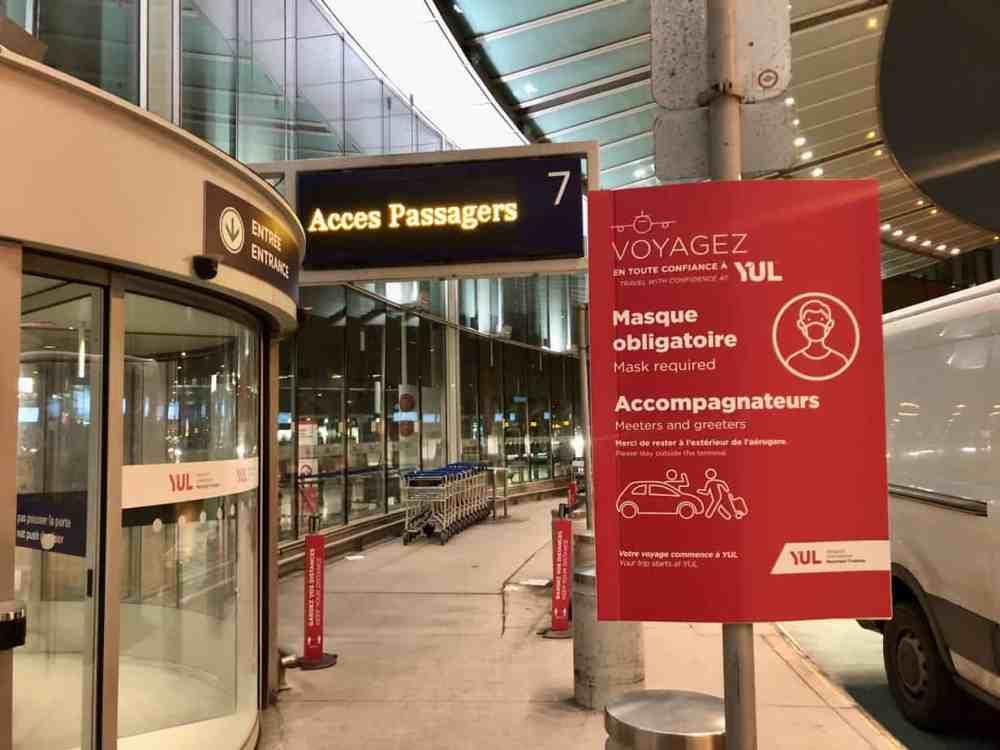 Aéroport de YUL COVID