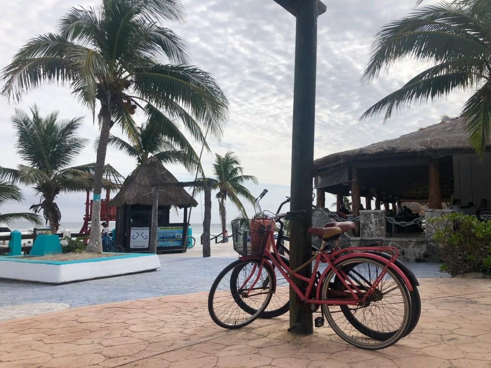 Vélos loués à Puerto Morelos