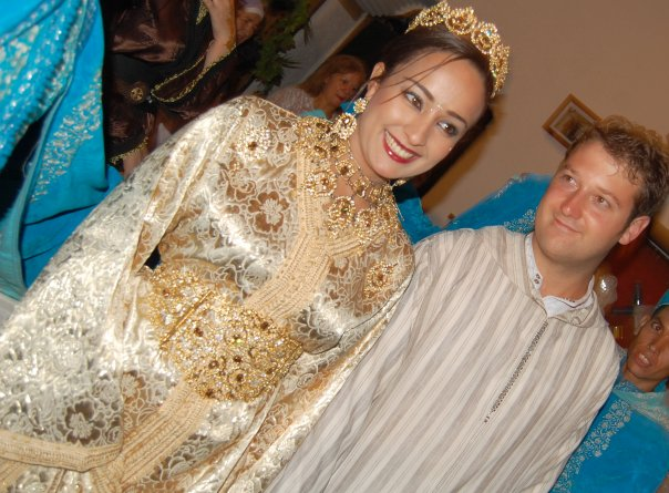 Soumia et JP au Maroc
