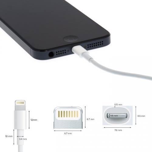 iPhone/iPod/iPad USB adat és töltőkábel