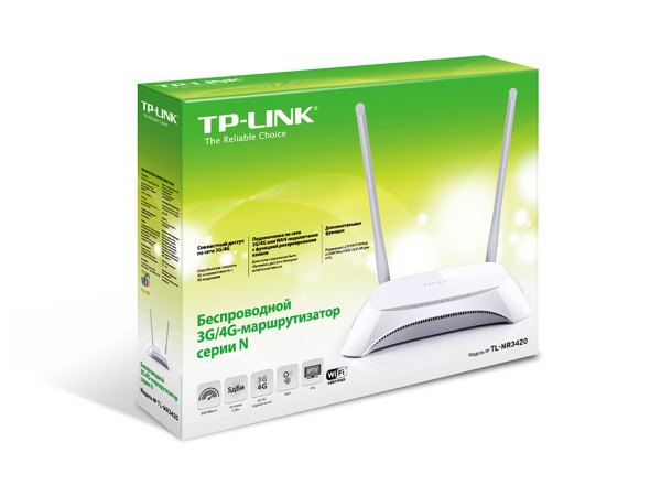 TP-LINK TL-MR3420 3G/4G router