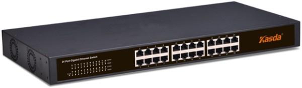 KASDA KS1024 Hálózati kapcsoló 24 db 10/100Mbps port