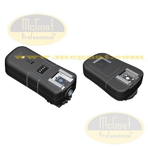 McGoat 3 az 1 ben Rádiós Vaku és Fényképezőgép távkioldó Nikon