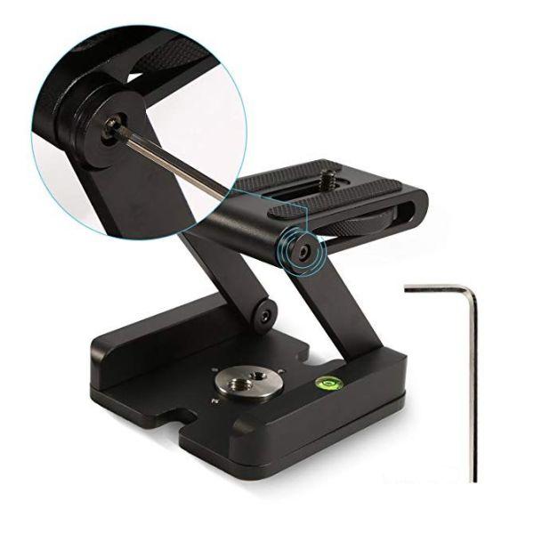 Z alakú kameratartó összecsukható