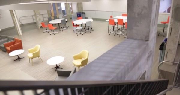Gallaudet Deaf Space Institute interior view