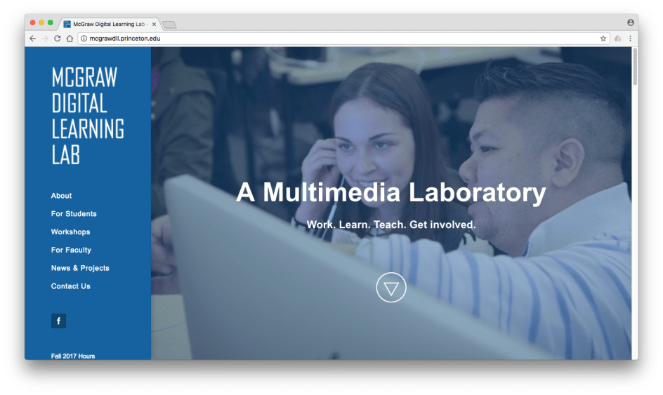 Screenshot of McGraw Digital Learning Lab home page