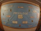 Privilege.