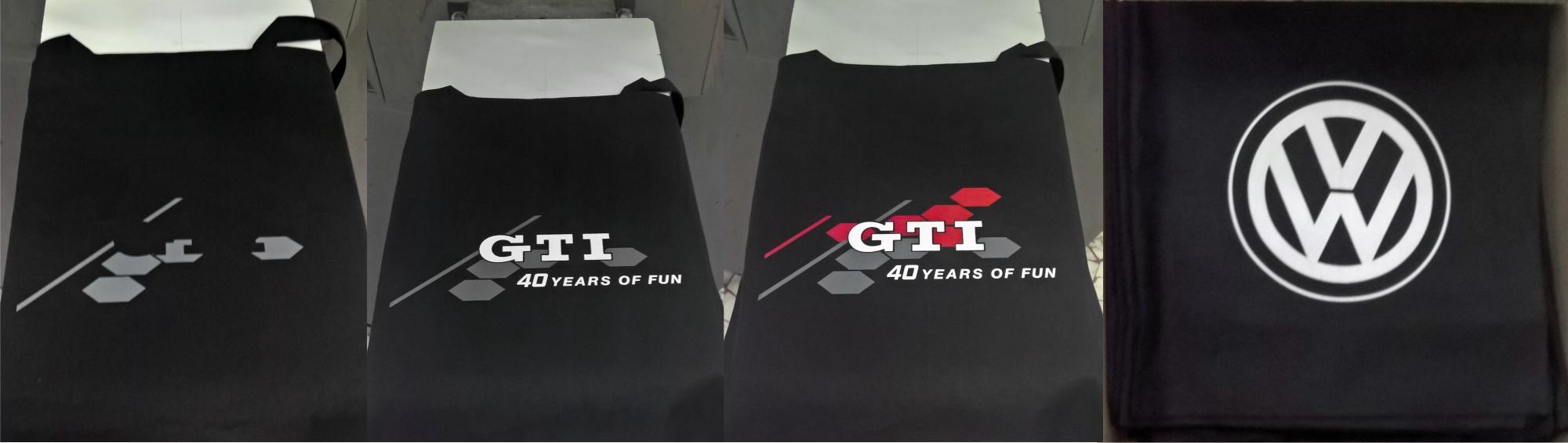 VW GTI shopping bag 1+3col