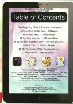 Mustard July '13 Volume 6 Number 8 Table of Contents