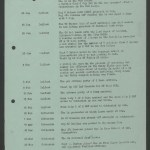 Fusilier Thomas's record in 2RRF's War Diary