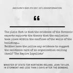 John Taylor's disinformation, Stormont, 7th December 1971
