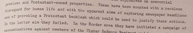RUC Special Branch Assessment McGurk's Lies 15 Dec 1971 Serial 2
