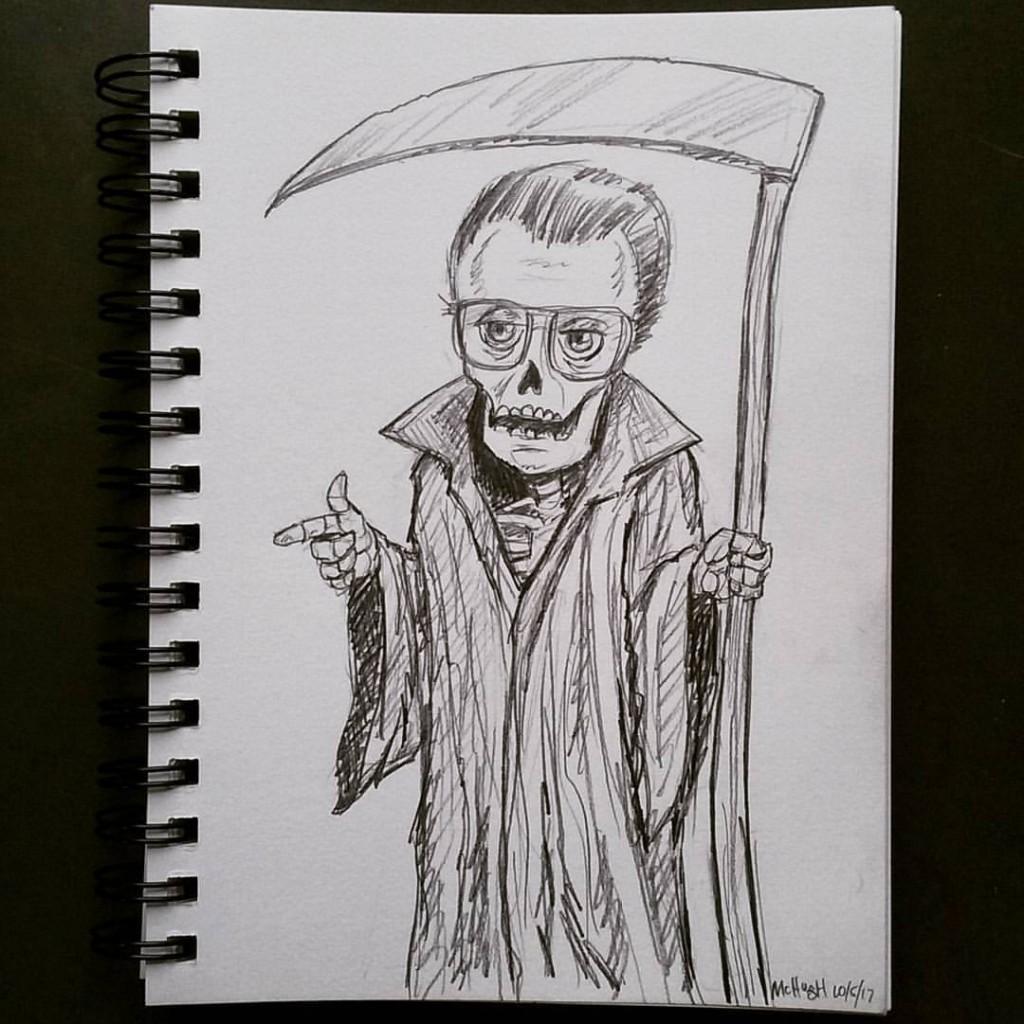 Grim Reaper sketch McIllustrator