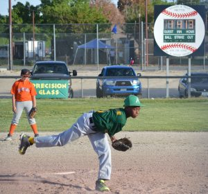 Round Mountain Youth Baseball League visited Hawthorne for the 2nd Annual Armed Forces Baseball Classic to play a scrimmage