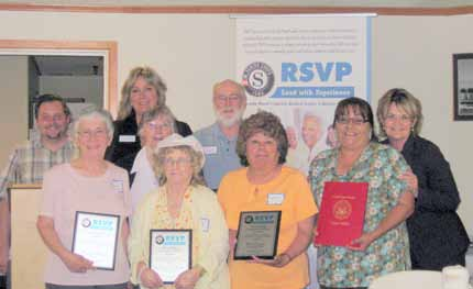 RSVP holds honorary awards and recognition luncheon