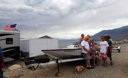 Fourth of July revelers flock to Walker Lake for the holiday