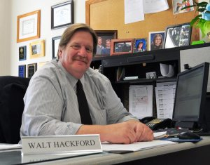 New Mineral County School District superintendent Walt Hackford looks to improve on staff morale, student enrollment and other issues as he enters his first year at the position.
