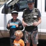 Kids enjoy free fishing event at Rose Creek