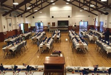 Former USO Building Hosts Rehearsal Dinner and Farewell Gala