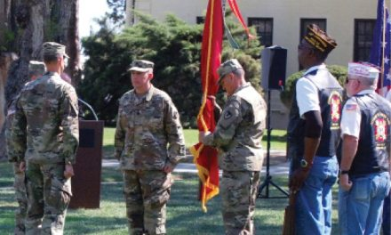 Bishop Assumes Command of Hawthorne Army Depot