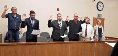 Taking The Oath