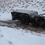Winter Weather Fouls Roads, Keeps Nevada Highway Patrol Busy