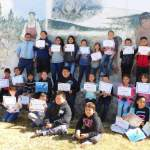 Schurz Elementary students receive quarterly awards