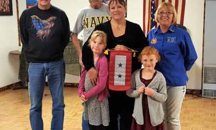 VFW Honors Blue Star Mother