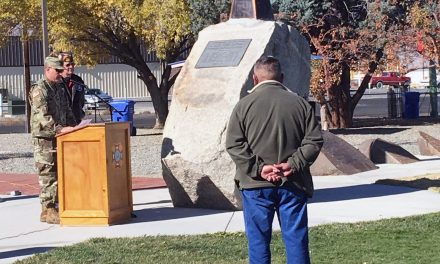 Memorial Installed to Honor Fallen Marines