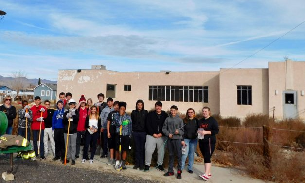 Jag Students Beautify Old School