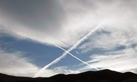 Explaining the White Lines in Our Sky