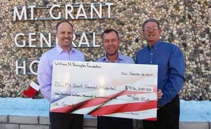 County Hospital Awarded Large Grant