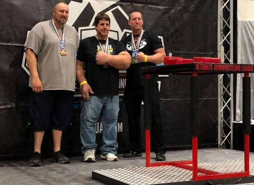 Local Arm Wrestlers Compete
