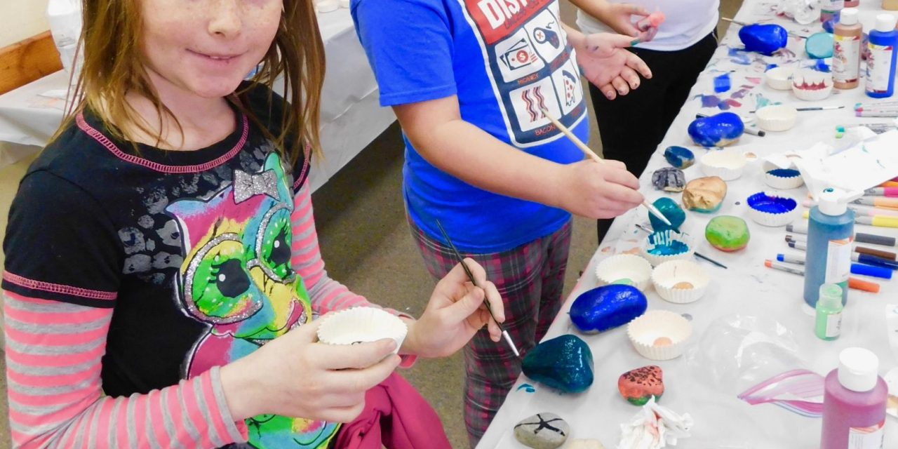 Rock Painting at Mineral County Library