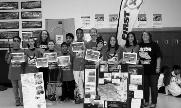 Walker Lake Inspired Project Wins Award at Competition