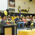 Sheri Samson A scholarship presentation was held at the Mineral County High gym for the senior class recently.