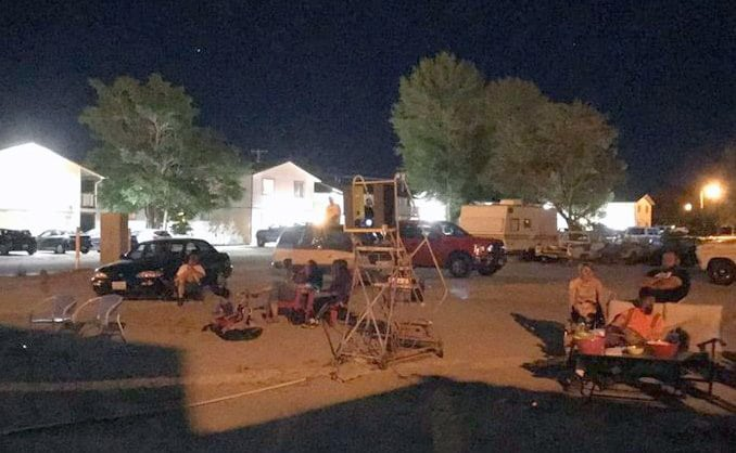 Local Family Hosting Summer Night Movies Under the Stars