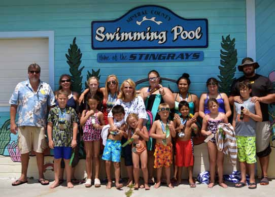 Stingray Swim Team Brings Home Array of Awards