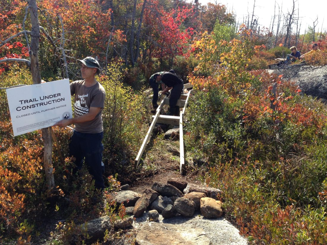 Trail work session Oct 11, 3-6pm