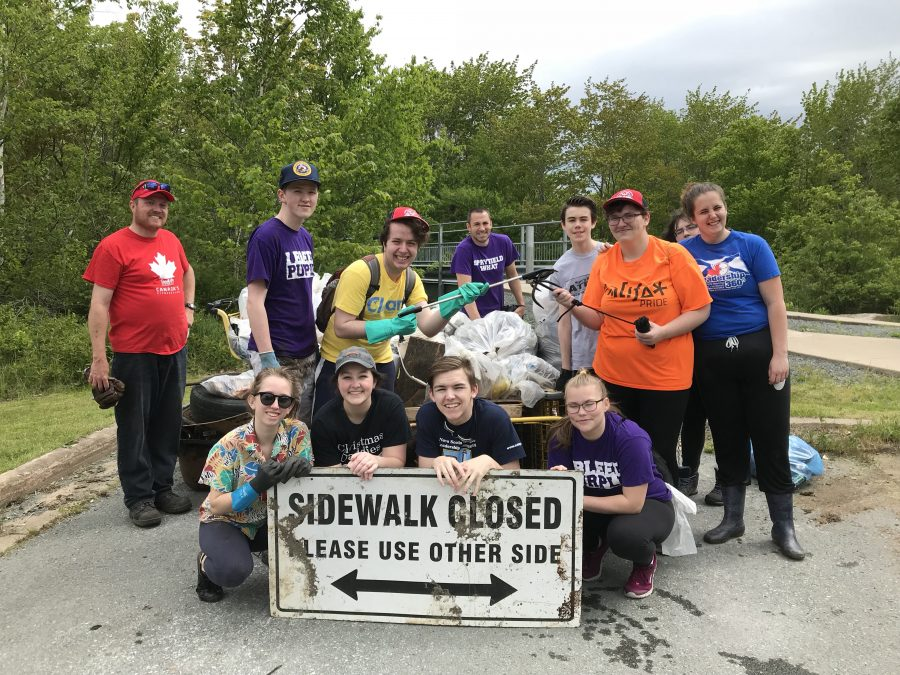 2018 Annual River Cleanup with JL Ilsley