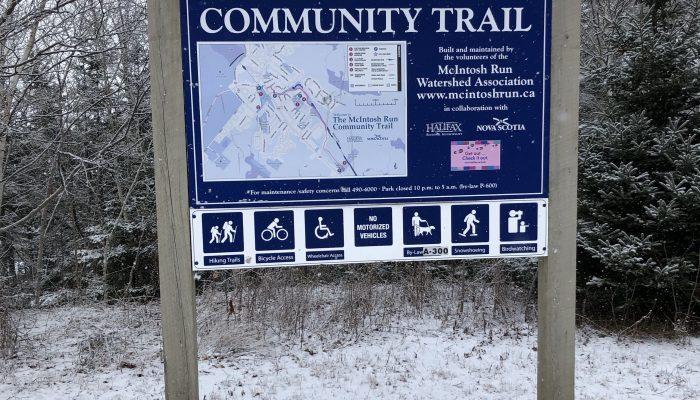 Community Trail Open