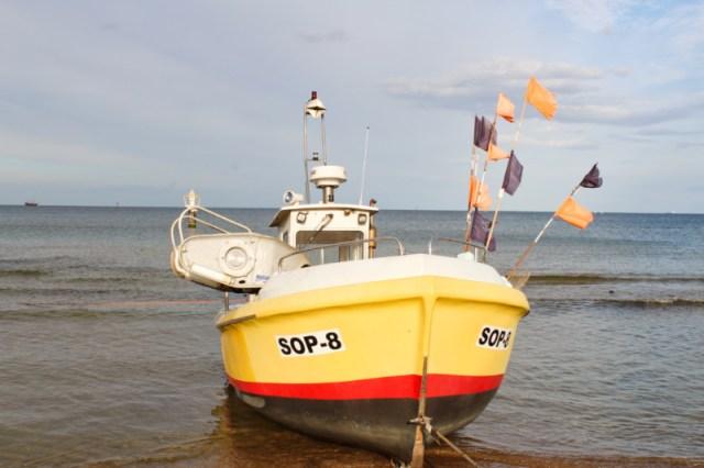 Boats in Sopot