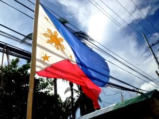 The Philippine flag