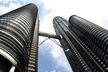 The tallest twin towers in the world. KL, Malaysia
