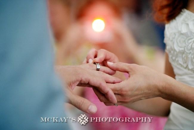 modern wedding photography and custom wedding rings