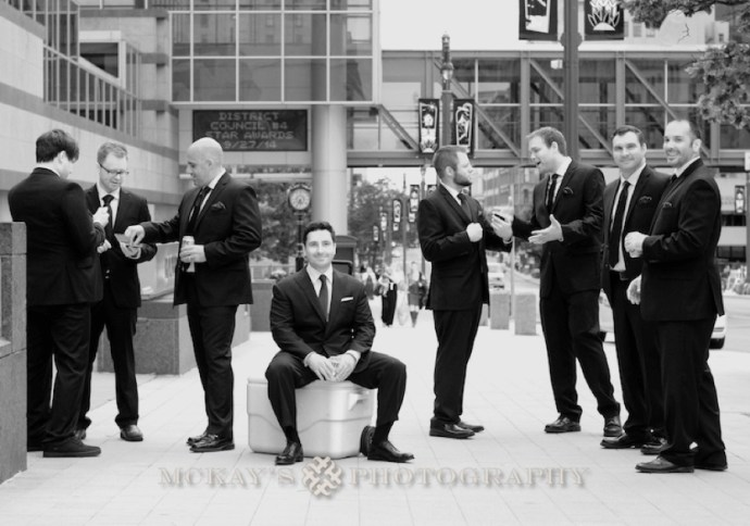 unique groomsmen pictures and poses by rochester photographer
