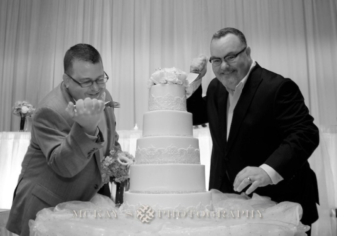 Premier Pastry wedding cake Rochester NY