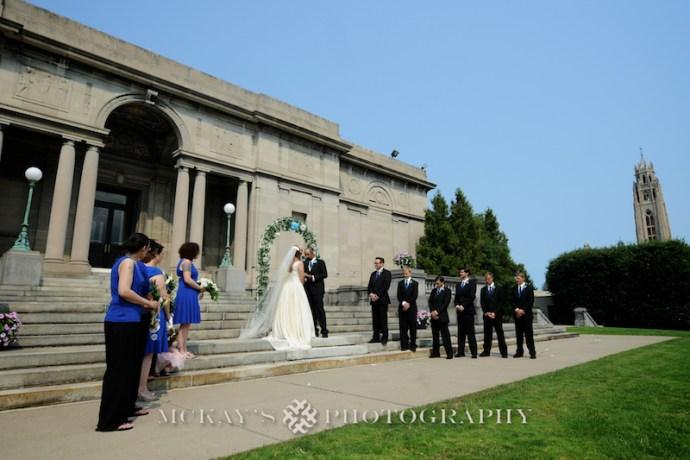 Memorial Art Gallery wedding photos by Rochester Wedding Photographer Heather McKay