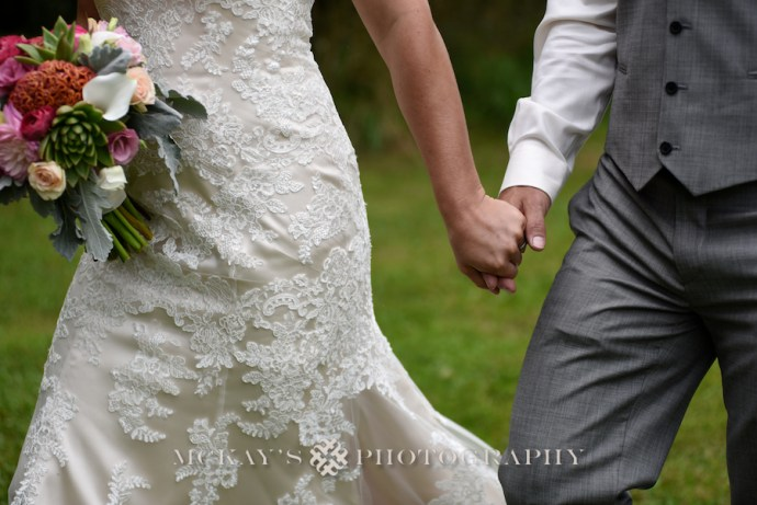 lace wedding dress for backyard wedding